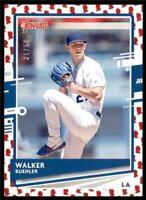 2020 Donruss Presidential Collection #62 Walker Buehler /50 Los Angeles Dodgers