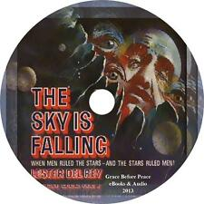 The Sky Is Falling, Lester Del Rey Sci-Fi Mystery Audiobook on 1 MP3 CD