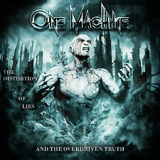 ONE MACHINE - The Distortion Of Lies And The Overdriven Truth - CD DIGIPACK