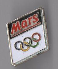 pin's mars / anneaux - jeux olympiques