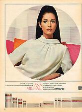 PUBLICITE  1967    PRISUNIC   cosmétiques ANN  MICHAEL