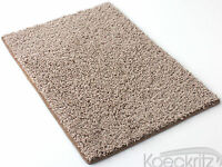 Beige Indoor Area Rug FRIEZE Textured CARPET Custom Cut Area Rug
