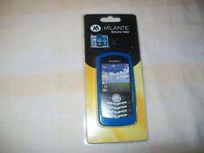 BLUE SILICONE SKIN CASE FOR RIM BLACKBERRY 8100 series FS