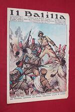rivista a fumetti IL BALILLA Supplemento Popolo d'Italia ANNO XIV N.3 (1936)