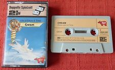 CREAM - RARE GERMAN CASSETTE TAPE - ONCE UPON A TIME - PAPER LABELS