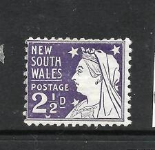 NEW SOUTH WALES 1897-03   2 1/2d  PURPLE  QV    MH SG 295  ...
