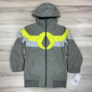 Volcom Boys West Snowboard Jacket Charcoal Size X-Small XS 6Y NWT $160 MSRP