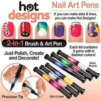 Nail Polish Create Hot Art Pens Decorate Varnish Tip Designs Drawing Christmas
