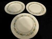 H2- Royal Doulton England Bone China Pastorale Dinner Plates Lot of 3