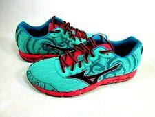 Mizuno Women's Wave Hitogrami 2 Running Shoe Green/Gray/Pink Size 7 M NEW