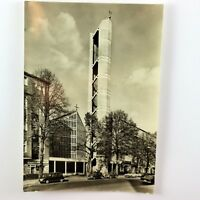 Vintage St Albertus Magnus 1962 Berlin Germany Photo Postcard Photography