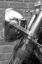 Motorrad Lampenhalter,headlight brackets, Alu, CNC-gefräst,45mm