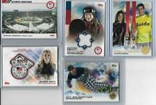 DANELLE UMSTEAD ALPINE SKIING 2014 TOPPS US OLYMPIC & PARALYMPIC GOLD RENBOW #85