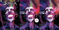 3x JOKER YEAR OF THE VILLAIN JOCK JETPACK/FORBIDDEN PLANET; VIRGIN MINIMAL DC