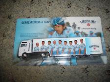 Team Gerolsteiner MAN  Gardinen SZ 1:87 mit  Radrennfahrer