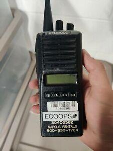 Kenwood TK-380 UHF Portable Radio with Antenna