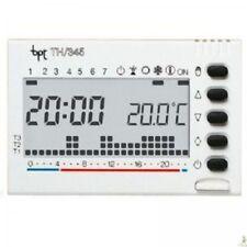Cronotermostato Bpt Th345BB Digitale Settimanale a Incasso Bianco Batteria Th345