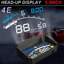 Universal 5.5'' Auto HUD Head Up Display OBD2 II Geschwindigkeit Alarm Projektor