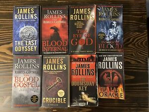 James Rollins Book Lot Of 8