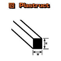 Plastruct MS-80 Pack of 10 Plastic Square Rods 2mm sq x 250mm