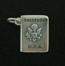 James Avery U.S.A. Passport Charm in Sterling Silver  - NO RESERVE