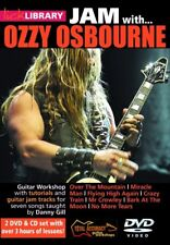 Lick Library JAM WITH OZZY OSBOURNE Rhoads Wylde Guitar Lesson Video 2 DVDs & CD