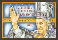 Vatican City 2007 Booklet, Papal Trips of Benedict XVI in 2006, Sc #1370a MNH