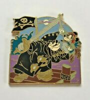 Disney Pin Badge Pirates of the Caribbean - Pete and Mickey