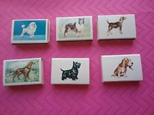 Diamond Match DIV NY - Dogs Pocketbox (Matchboxes) (VTG/RARE/HTF)