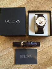 Mens Bulova Automatic Watch 21 Jewels
