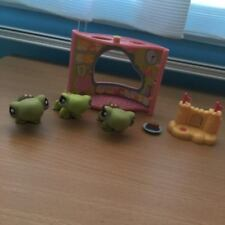 Littlest Pet Shop - Three Turtles + Playset