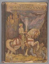 WILL VESPER-DIE NIBELUNGENSAGE G. STALLING VERLAG OLDEBURG 1925-L3257