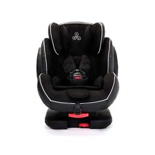 Solar 1-2-3 Group Isofix and Recline Car Seat in Black