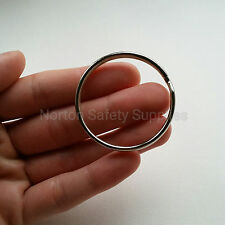 Large Jailers Fob / Keyring / Split Ring 50mm (BUY 2 GET 1 FREE)