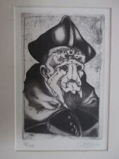 Arwed Gorella Etch Signed Artist De Sade #2