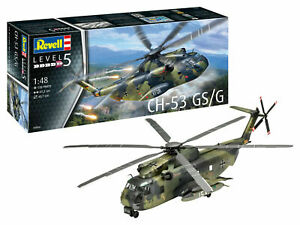 Revell 03856 Hubschrauber CH-53 GS/G Bundeswehr Plastik Modellbausatz 1:48 NEU