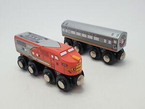 Lionel Heritage Series Santa Fe Wooden Train