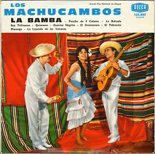 """LOS MACHUCAMBOS """"LA BAMBA"""" 60'S 25 CM DECCA 123.897"""