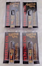 4 Pack: Spiritual Sky Scented Oil: PATCHOULI Oil (60's Hippy Perfume Patchouly)