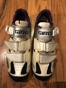 giro manta womens mountain bike spin shoes 39.5 shimano cleats 7.75 7.5 8