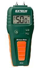 EXTECH MO50 Moisture Meter, LCD, 9V