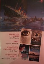 Readers Digest Select Editions 4 Short Stories In 1 Book, Action Thriller Drama