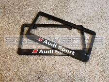 Audi Sport Audi License Plate Frame RS3 TTRS R8 A4 S4 TT S5 Q5 2 colors - Pair