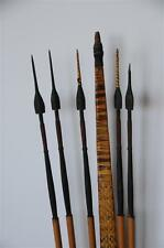 Old Papua New Guinea Solomon Islands Young Mans Bow & Arrows Set…