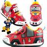 Boys Fireman Sam Jupiter Trainers Shoe Sizes 5-10 Fire Engine Truck New Gift
