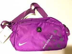 NIKE  Small Cross-over Shoulder Bag  Purple Unisex New With Tags No 1