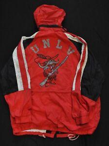 UNLV RUNNIN' REBELS Light Long Jacket Fold-out Hood Starter Style Red