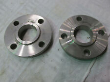 """Sorf Stainless Steel 1.5""""  (6"""")  Pipe Slip-on Flange  304L  qty 2"""