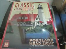 2019 Classic Lighthouses -- the Graphic Art of Alan Claude 16-Month Wall Calenda