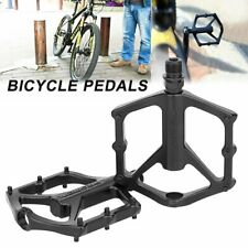 2X Aluminum Alloy MTB Flat Platform Mountain Bike Pedals Bicycle Pedals GN